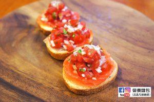 營養師不藏私食譜分享:煙燻鮭魚塔佐莎莎醬