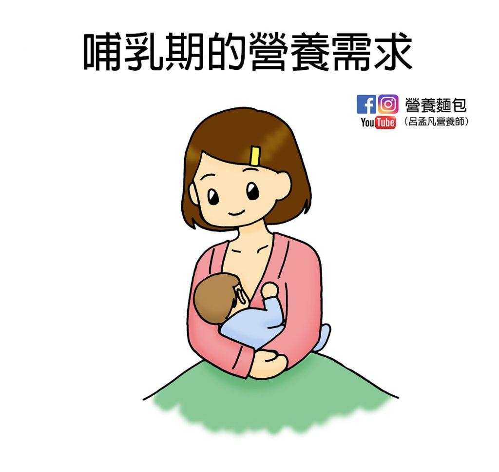 哺乳期要怎麼吃?熱量、維生素、礦物質需求有多少?讓營養師告訴妳~