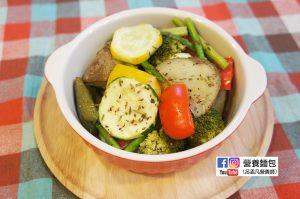 營養師不藏私食譜分享:義式烤蔬菜及馬鈴薯(超簡單烤箱料理)